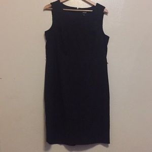 MSK Black Sheath Dress